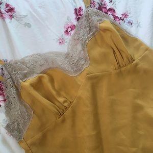 Rodarte for Target silky golden camisole